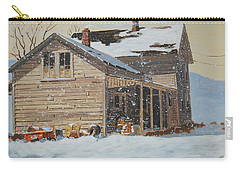 the Old Farm House Carry-all Pouch