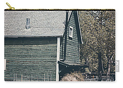 The Old Green Barn Carry-all Pouch by Maria Angelica Maira