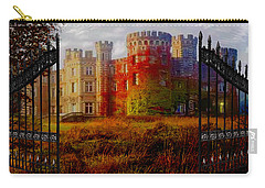 The Old Haunted Castle Carry-all Pouch by Michael Rucker