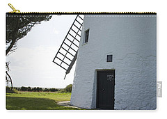 Carry-all Pouch featuring the photograph The Old Irish Windmill by Ian Middleton