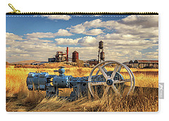 The Old Lumber Mill Carry-all Pouch by James Eddy
