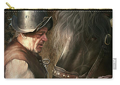 The Old Man And His Trusty Friend Carry-all Pouch