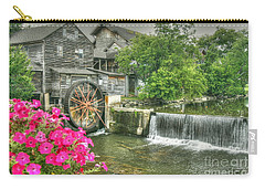 The Old Mill Carry-all Pouch by Myrna Bradshaw