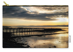 The Old Pier In Culross, Scotland Carry-all Pouch