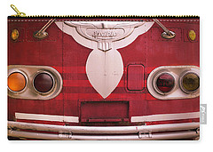 Carry-all Pouch featuring the photograph The Old Red Bus by Heidi Hermes