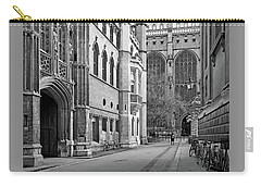 Carry-all Pouch featuring the photograph The Old Schools University Offices Cambridge by Gill Billington