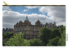 Carry-all Pouch featuring the photograph The Old Town In Edinburgh by Jeremy Lavender Photography