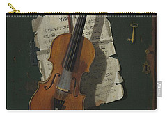 The Old Violin Carry-all Pouch
