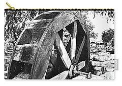 The Old Waterwheel Carry-all Pouch