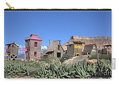 The Old Western Town  Carry-all Pouch