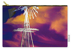 The Old Windmill  Carry-all Pouch by Toma Caul