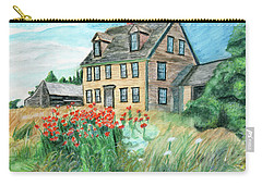 The Olson House With Poppies Carry-all Pouch