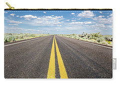 Carry-all Pouch featuring the photograph The Open Road by Margaret Pitcher