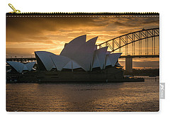 The Opera House Carry-all Pouch by Andrew Matwijec