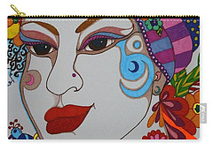 The Opera Singer Carry-all Pouch by Alison Caltrider