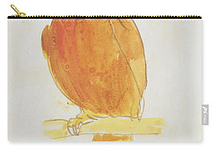 The Orange Color Bird Carry-all Pouch