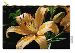 The Orange Lily Carry-all Pouch