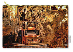 The Organ In Luray Caverns Carry-all Pouch by Paul Ward