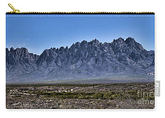 Carry-all Pouch featuring the photograph The Organ Mountains by Gina Savage
