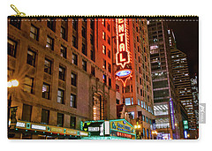 The Oriental Theater Chicago Carry-all Pouch