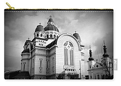 The Orthodox Cathedral And The Saint John The Baptist Church Carry-all Pouch