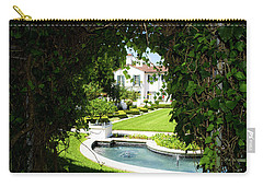 Carry-all Pouch featuring the photograph The Other Side by Shannon Harrington