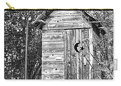 The Outhouse Bw Carry-all Pouch