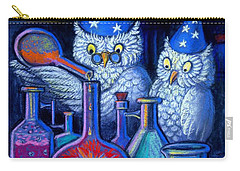The Owl Chemists Carry-all Pouch