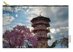 The Pagoda In Spring Carry-all Pouch by Mark Dodd