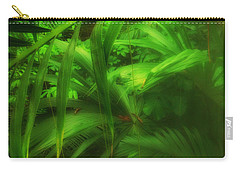Carry-all Pouch featuring the photograph The Palm Forest  by Connie Handscomb
