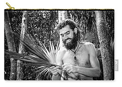 The Palm Frond Weaver Carry-all Pouch