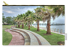 The Palms Of Water Front Park Carry-all Pouch