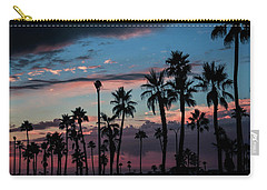The Palms Carry-all Pouch by Ralph Vazquez