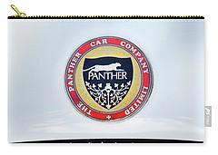 The Panther Car Company Carry-all Pouch by Theresa Tahara
