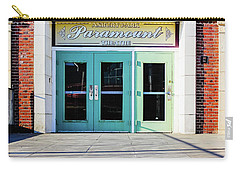 Carry-all Pouch featuring the photograph The Paramount Theatre by Colleen Kammerer