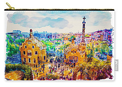 Park Guell Barcelona Carry-all Pouch by Marian Voicu