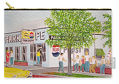 The Park Shoppe Portsmouth Ohio Carry-all Pouch by Frank Hunter