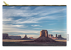 Carry-all Pouch featuring the photograph The Past by Jon Glaser
