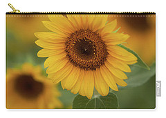 The Patch Of Sunflowers Carry-all Pouch