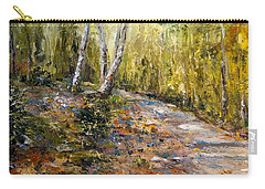 Carry-all Pouch featuring the painting The Path by Alan Lakin