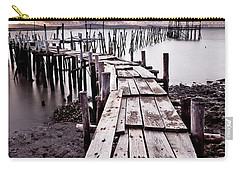 Carry-all Pouch featuring the photograph The Path by Jorge Maia