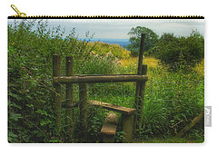 Carry-all Pouch featuring the photograph The Path Most Traveled  by Connie Handscomb