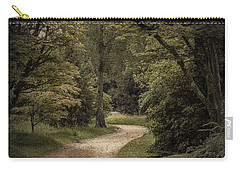 Carry-all Pouch featuring the photograph The Path by Ryan Photography