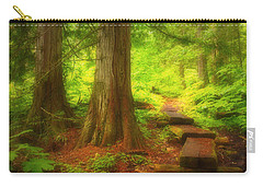The Path Through The Forest Carry-all Pouch