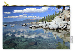 Carry-all Pouch featuring the photograph The Path To Reflection by Sean Sarsfield