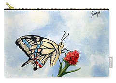 Carry-all Pouch featuring the painting The Patriot by Sam Sidders