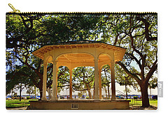 The Pavilion At Battery Park Charleston Sc  Carry-all Pouch