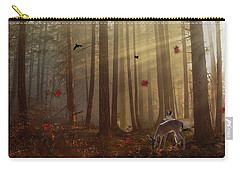 The Peace Of An Autumn Sunset Carry-all Pouch