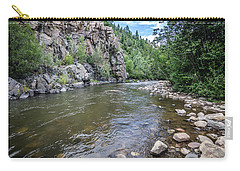 Carry-all Pouch featuring the photograph The Pecos River by Margaret Pitcher