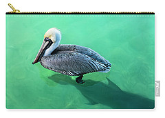 The Pelican And The Shark Carry-all Pouch